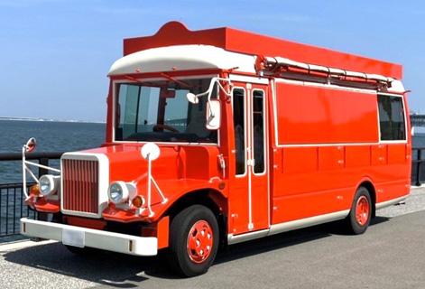 BIGUP JAPANのボンネットバス